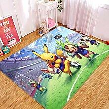 AJ WALLPAPER 3D-Teppich für Pokemon Pikachu 794