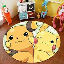AJ WALLPAPER 3D Teppich Matte für Pokemon Pikachu