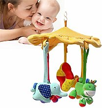 AJAMQ Mobile Babybett Jungen Musik, Baby Mobile