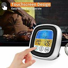 Ajboy Digitales Fleischthermometer genaues Kochen
