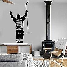 Ajcwhml Benutzerdefinierte Hockey Player Wall