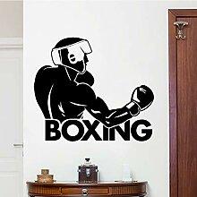 Ajcwhml Boxer wandaufkleber Dekoration entfernbare