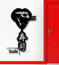 Ajcwhml Essen Sie Sushi-Abziehbild ungiftiges