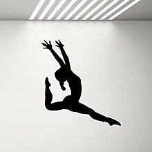 Ajcwhml Gymnastik Mädchen Silhouette