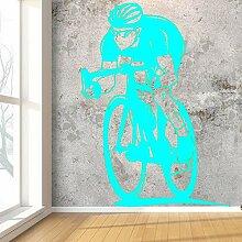 Ajcwhml Junge Schlafzimmer Dekoration mit Fahrrad