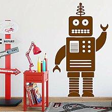Ajcwhml Lustige Roboter wandaufkleber