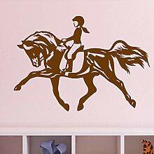Ajcwhml Pferd mädchen Schlafzimmer wanddekoration