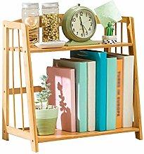 AJZGF-Bücherregal Einfaches Tischregal,