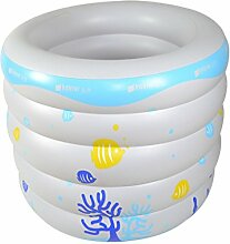 AJZGF Kind-aufblasbare Badewanne aufblasbarer