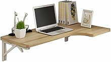 AJZXHE Klapptisch, wandmontierter Schreibtisch