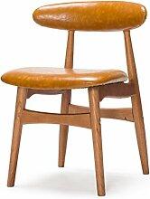 AJZXHE Skandinavische Retro-Stühle, Einfache