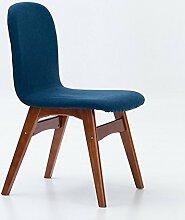 AJZXHE Skandinavischer Retro- Stuhl, einfacher