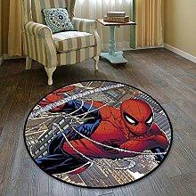AKCHIUY Avengers/Spiderman Teppich Runder Beleg