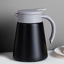 AKEFG Thermokaffee-Karaffe Teekanne Edelstahl,