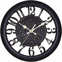 AKJC Wanduhr Vintage Digital Wall Clocks,A