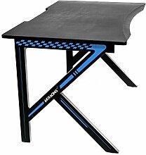 AKRACING Desk, Schreibtisch Schwarz/Blau 116x75x73