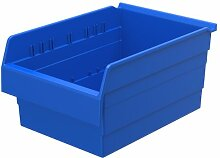 akro-mils 30806shelfmax 8Kunststoff Nistkasten Mülleimer Box Regal–40,6cm L x 27,9cm W x 20,3cm H, 30806BLUE