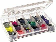 akro-mils Kunststoff Teile Aufbewahrung Schutzhülle für Hardware und Craft, 05905