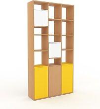 Aktenregal Buche - Flexibles Büroregal: Türen in