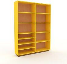 Aktenregal Buche, Holz - Flexibles Büroregal: