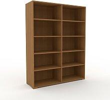 Aktenregal Eiche, Holz - Flexibles Büroregal: