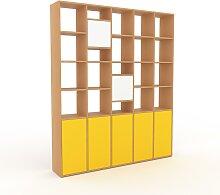 Aktenregal Gelb - Flexibles Büroregal: Türen in