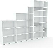 Aktenregal Weiß - Flexibles Büroregal: