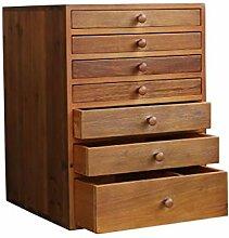 Aktenschrank aus Holz, Schreibtischauszug