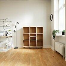 Aktenschrank Eiche, Holz - Flexibler Büroschrank: