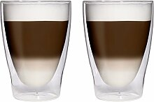 AKTION: 2x 280ml XL doppelwandige Latte