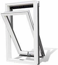 Aktion! Dachfenster Rooflite Duro 55x78 Schwingfenster aus Kunststoff mit Eindeckrahmen VKR-Gruppe wie Velux