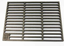 AKTIONA Gusseisen Grillrost 50 x 35 cm Grillclub