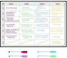 Aktionsplan Whiteboard von SmartPanda – Großer