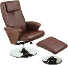 aktivshop Massagesessel Relax-Sessel Design, creme