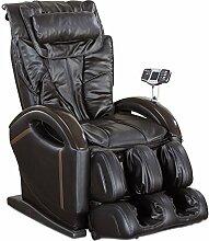 aktivshop Massagesessel »Sensus« Sessel Relaxsessel Entspannungssessel (Schwarz)