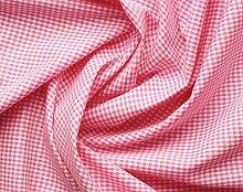 Aktivstoffe 15257 Stoffe Vichy Karo, 2 m, rosa