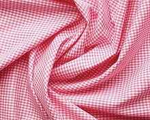 Aktivstoffe 15262 Stoffe Vichy Karo, 7 m, rosa