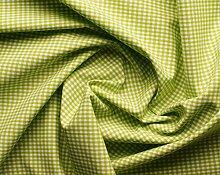 Aktivstoffe 15274 Stoffe Vichy Karo, 9 m, apfelgrün