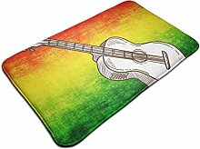 Akustikgitarre rutschfester Teppich Traditioneller