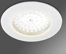 Akzentgebender LED-Einbaustrahler Paul weiß