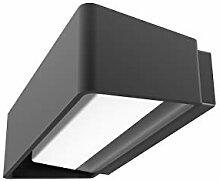 Akzentlicht LED Design-Aussenleuchte, Alu,