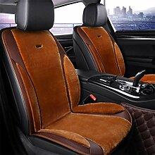 Al'ge'r Auto 12V Heizung Sitzkissen Auto heißer Deckel Temperaturregler Massagematte , coffee , double
