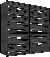 AL Briefkastensysteme, 13er Unterputzbriefkasten