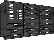 AL Briefkastensysteme, 15er Unterputzbriefkasten