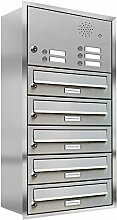 AL Briefkastensysteme, 5er Unterputzbriefkasten,