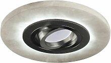 Alabaster LED Einbau Ring mit kombinierter