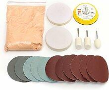 Alamor Glas Politur Kit Scratch Abbau Cer Oxid