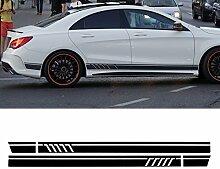 Alamor Paar Sport Seitenstreifen Autoaufkleber