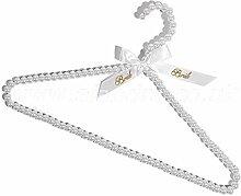 Alandra Geschenke Brücke Kleiderbügel, Perlen