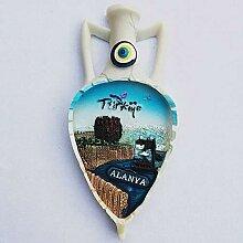 Alanya Turkey 3D Fridge Magnet Travel Sticker
